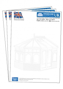 A4 Letterheads printed full colour on 120g bond