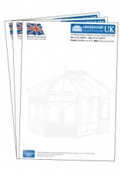 A4 Letterheads printed full colour Both sides on 120g bond