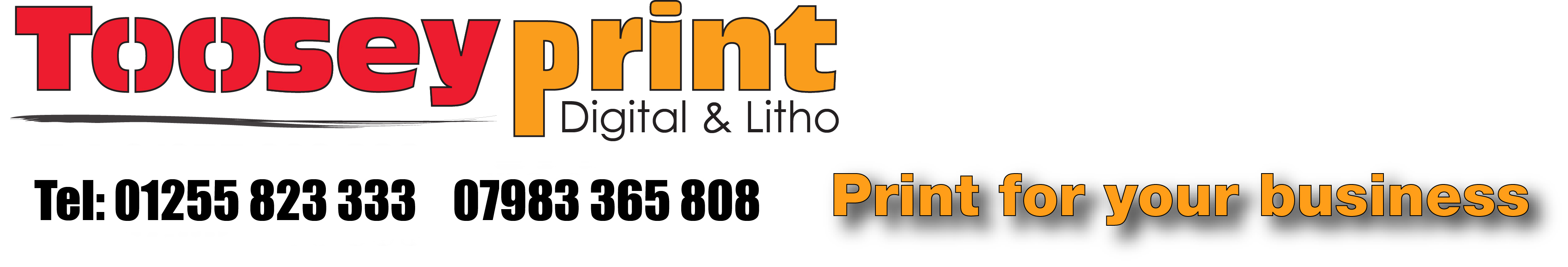 Printers in Colchester Cheap flyers business cards Toosey Print